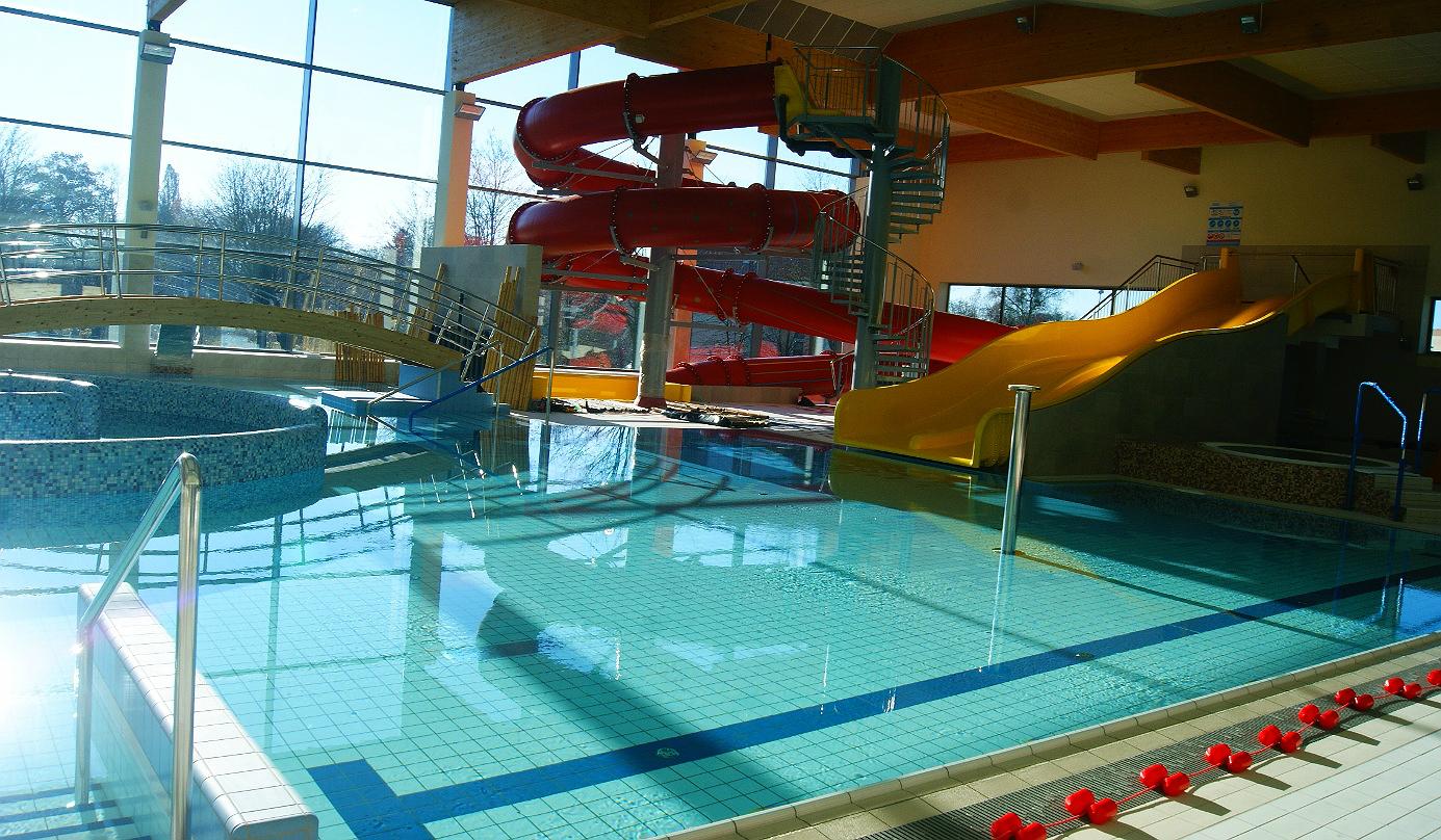 Kompleks basenowo-rekreacyjny przy ul.Moniuszki