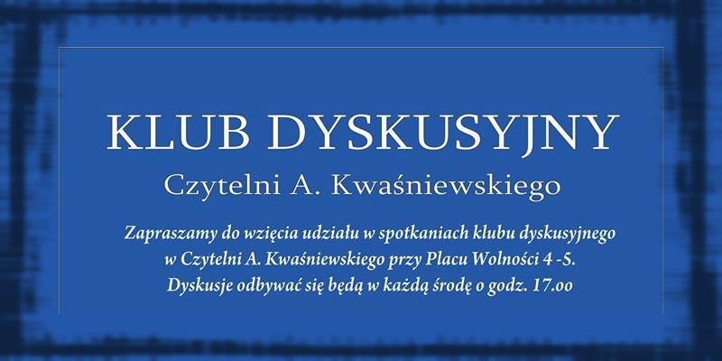 Klub dyskusyjny