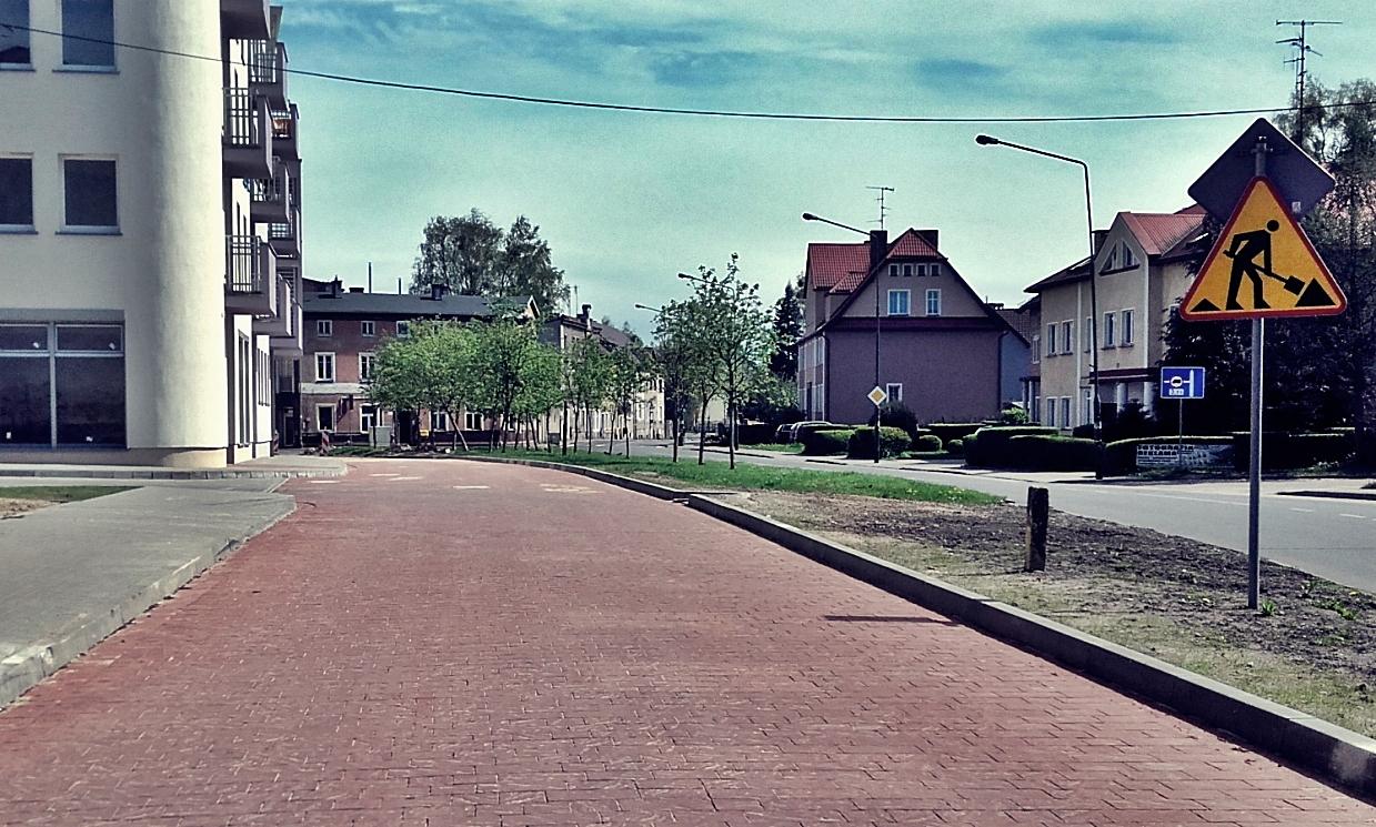 Nowa jezdnia, nowe chodniki, Miasto Białogard