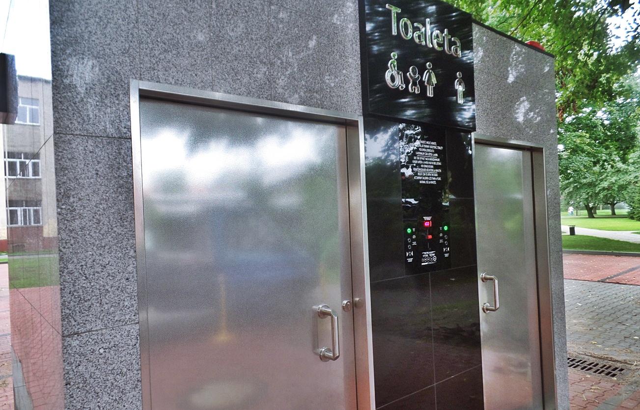Parking z toaletą, Miasto Białogard