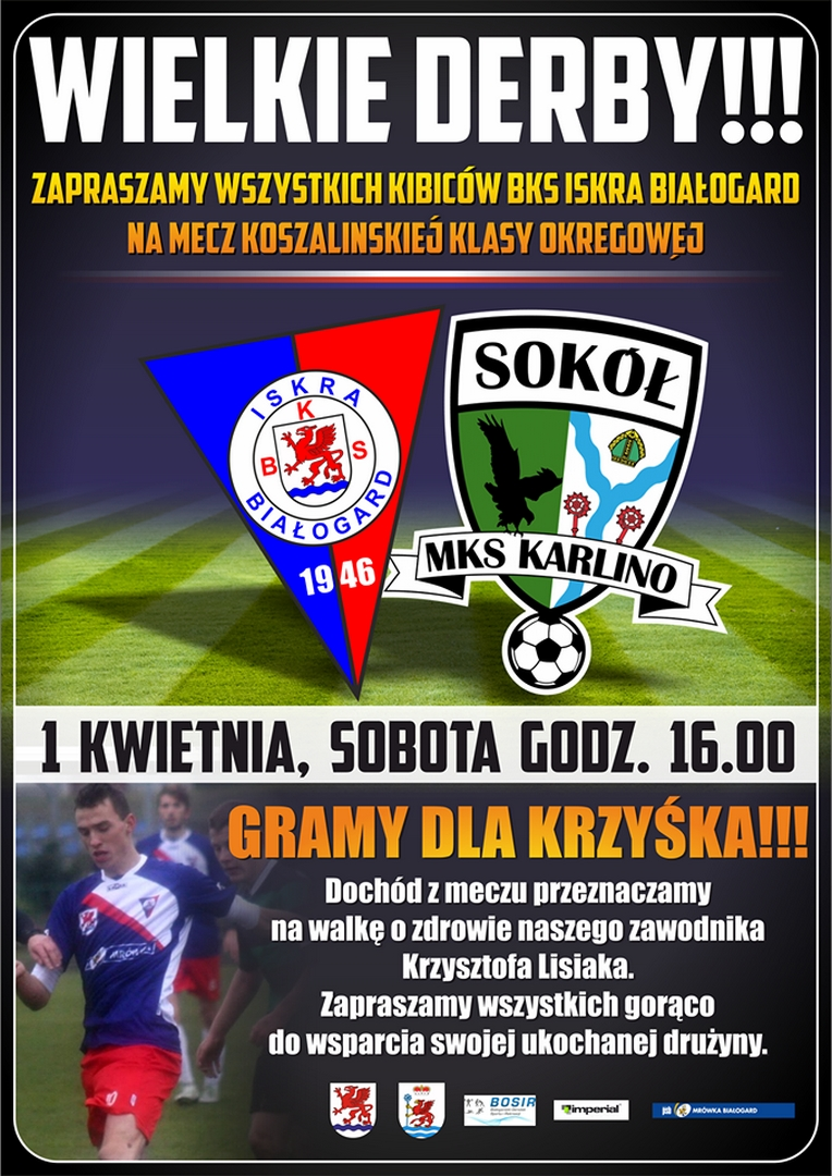 Iskra vs Sokół Karlino