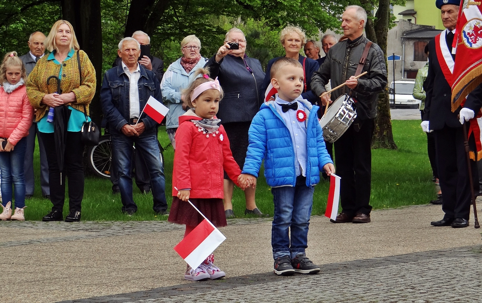 Konstytucja 3 Maja. Miejskie obchody, Miasto Białogard