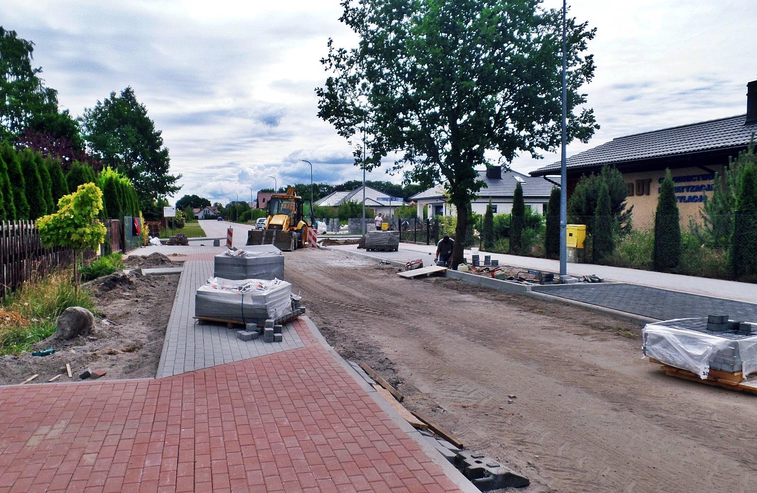 Budowa ulicy rtm. Pileckiego, Miasto Białogard