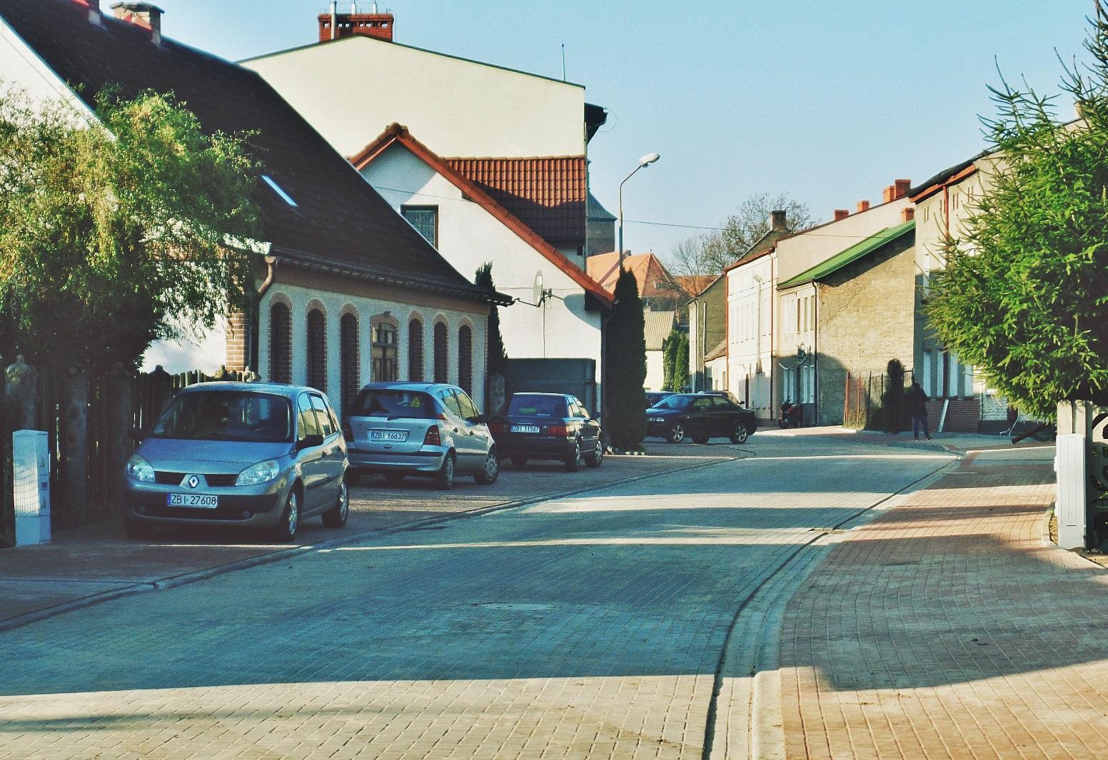 Nowa Aldony, Miasto Białogard