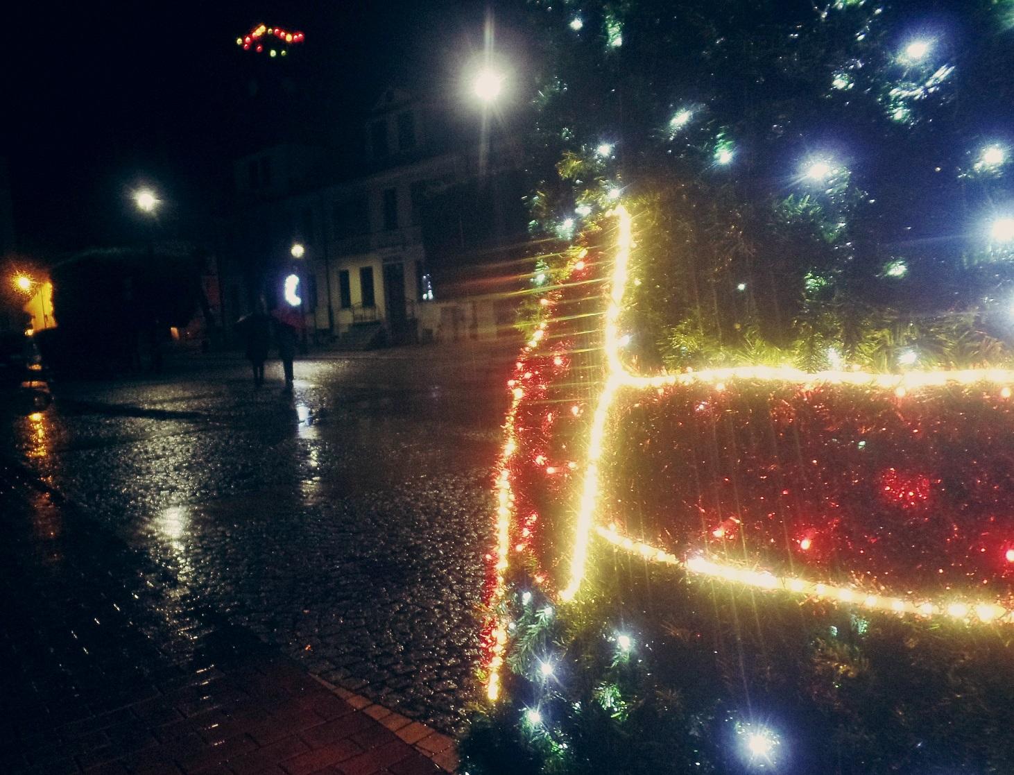 Białogard świąteczne przystrojony, Miasto Białogard