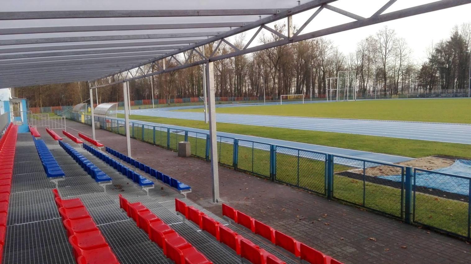 Nowa trybuna na Stadionie Miejskim
