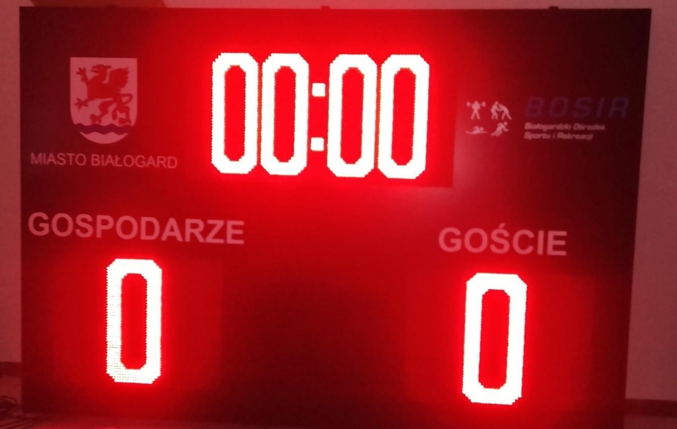 Nowa tablica świetlna na Stadionie Miejskim