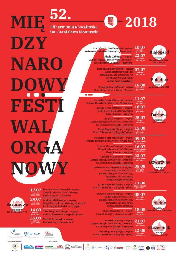 Festiwal organowy AD 2018