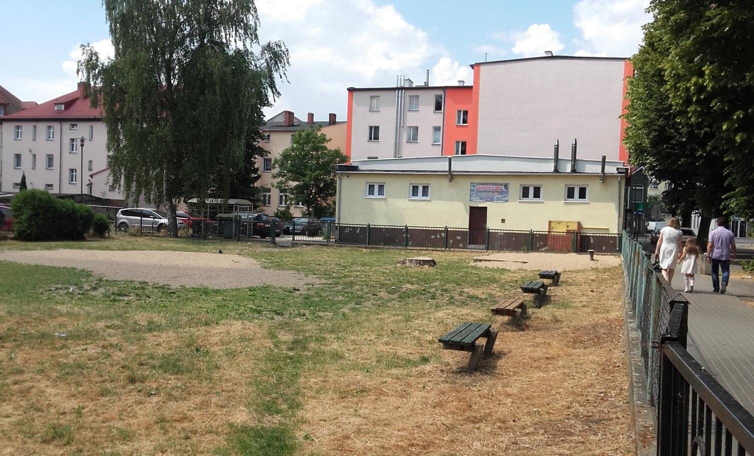 Projekt pn. Utworzenie integracyjnego placu zabaw przy ul.Raczyńskiego