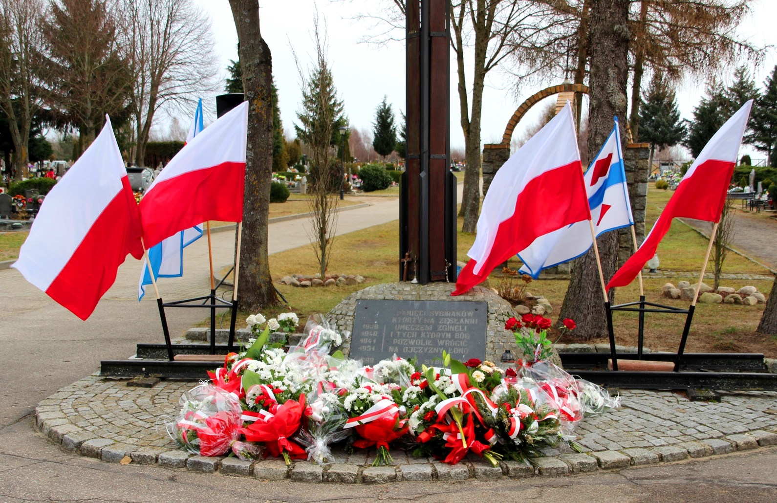 Rocznica deportacji..., Miasto Białogard