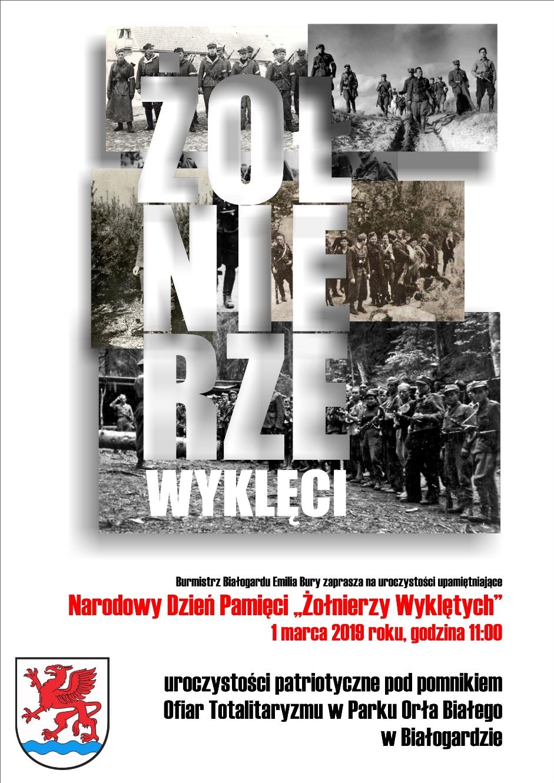 """Obchody Narodowego Dnia Pamięci """"Żołnierzy Wyklętych"""", Miasto Białogard"""