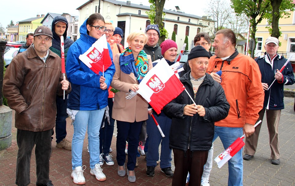 Flagi dla mieszkańców, Miasto Białogard
