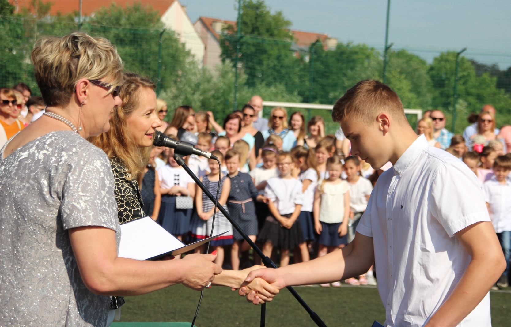 Koniec roku szkolnego!, Miasto Białogard