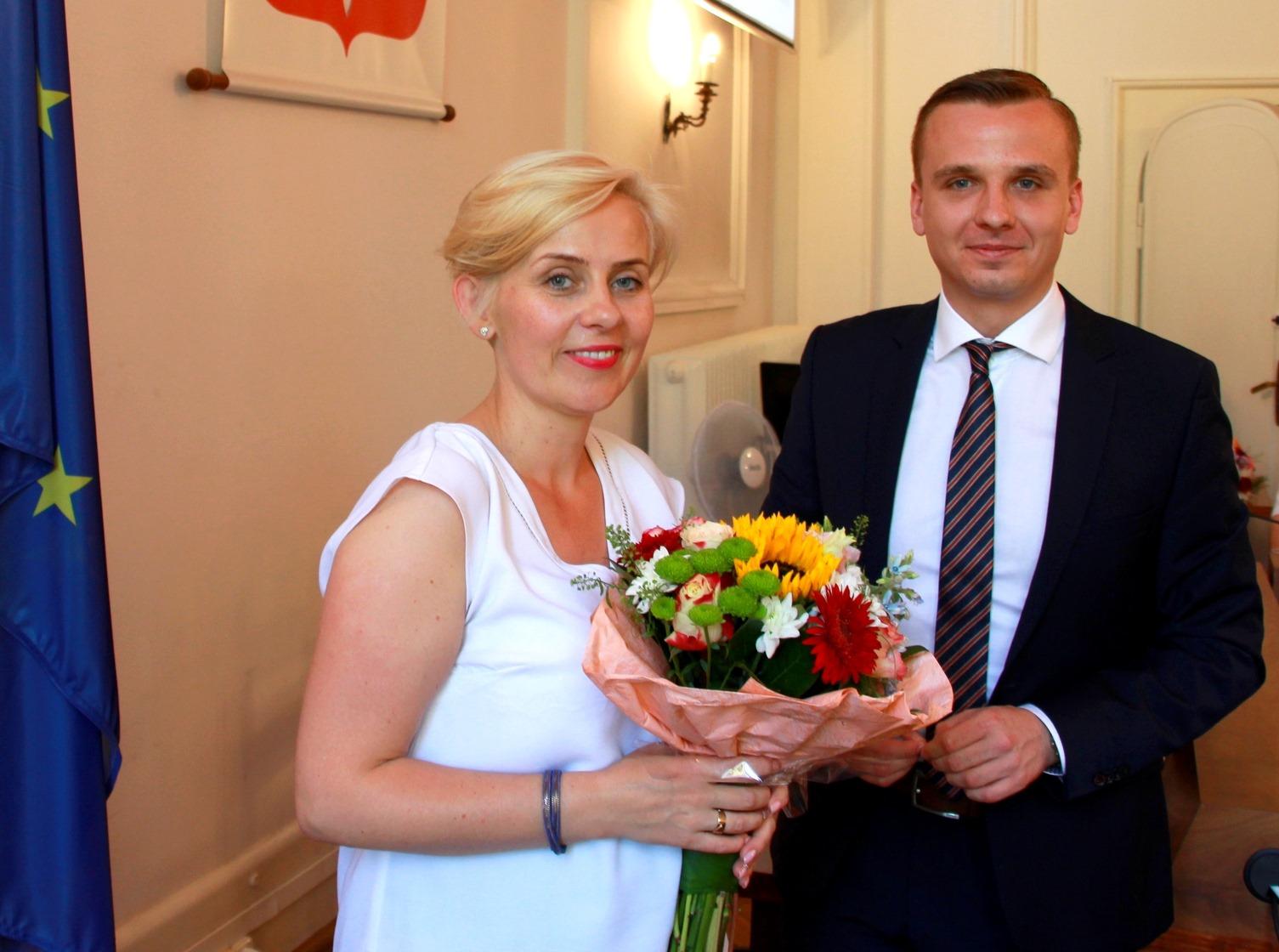 Burmistrz z absolutorium, Miasto Białogard