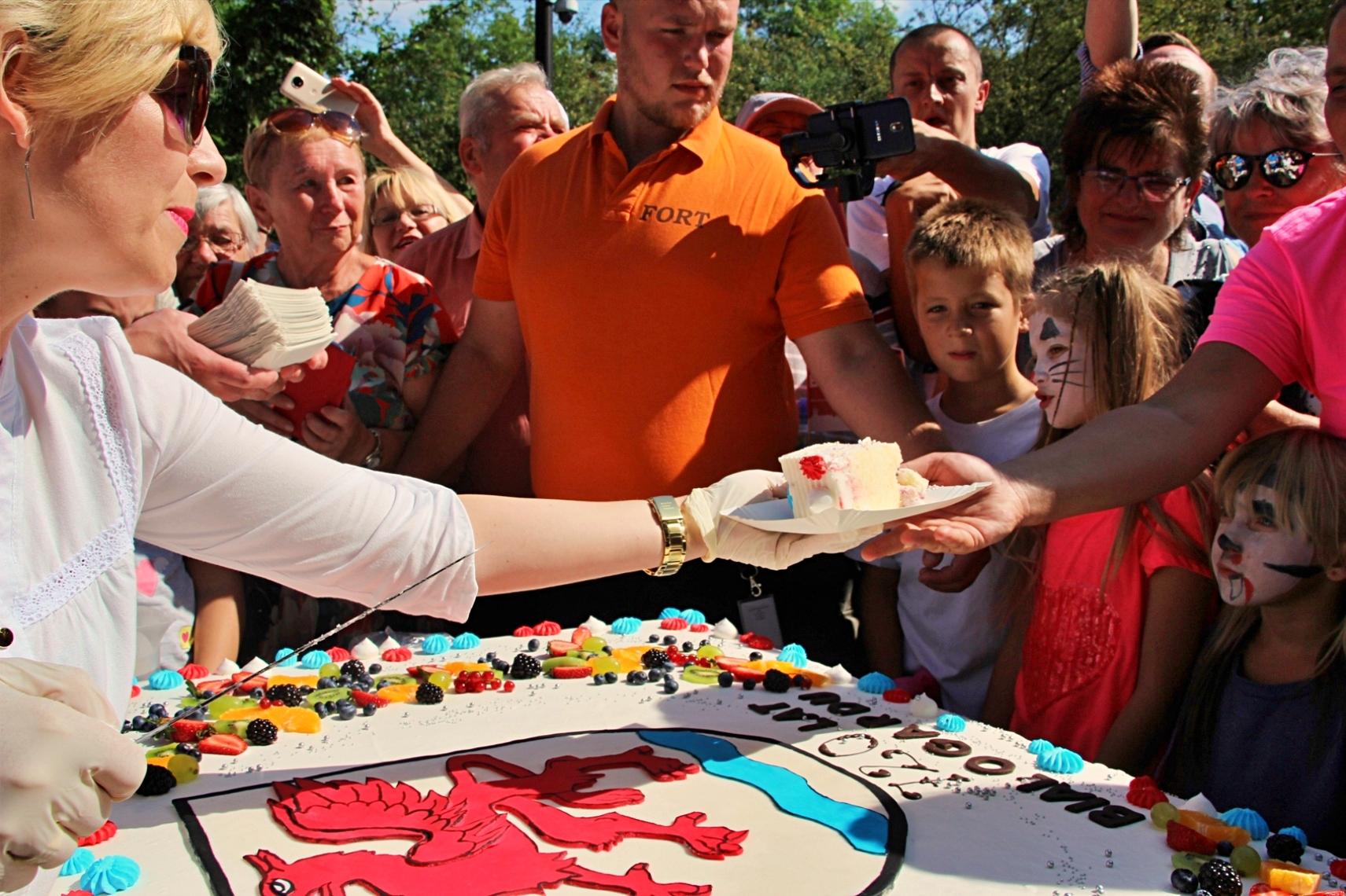 Urodzinowy tort!, Miasto Białogard