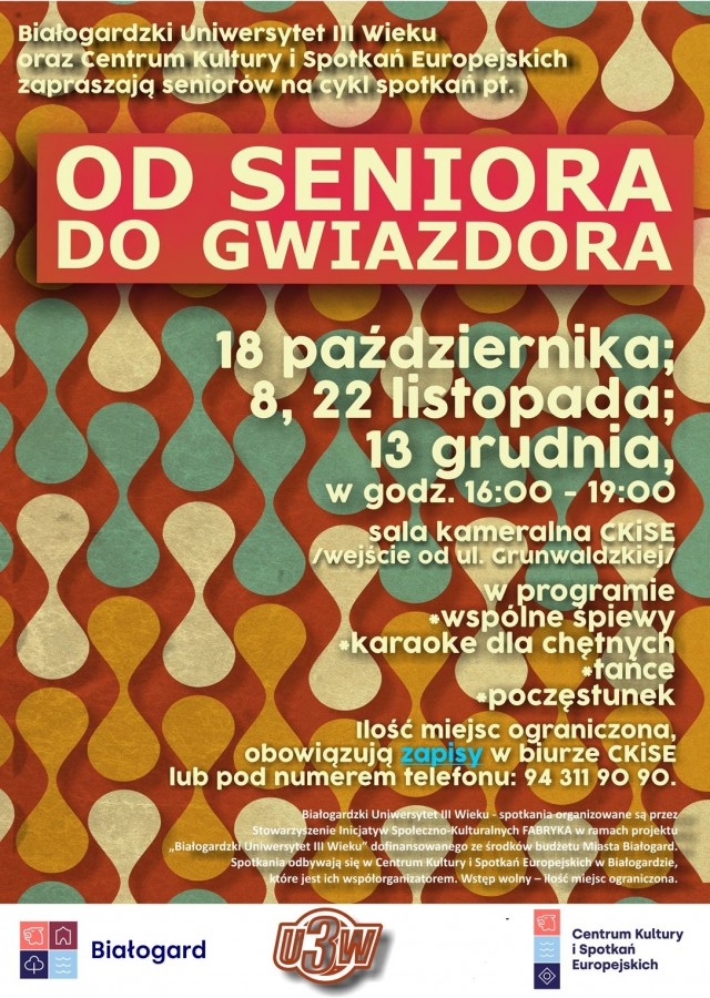 Od seniora do gwiazdora