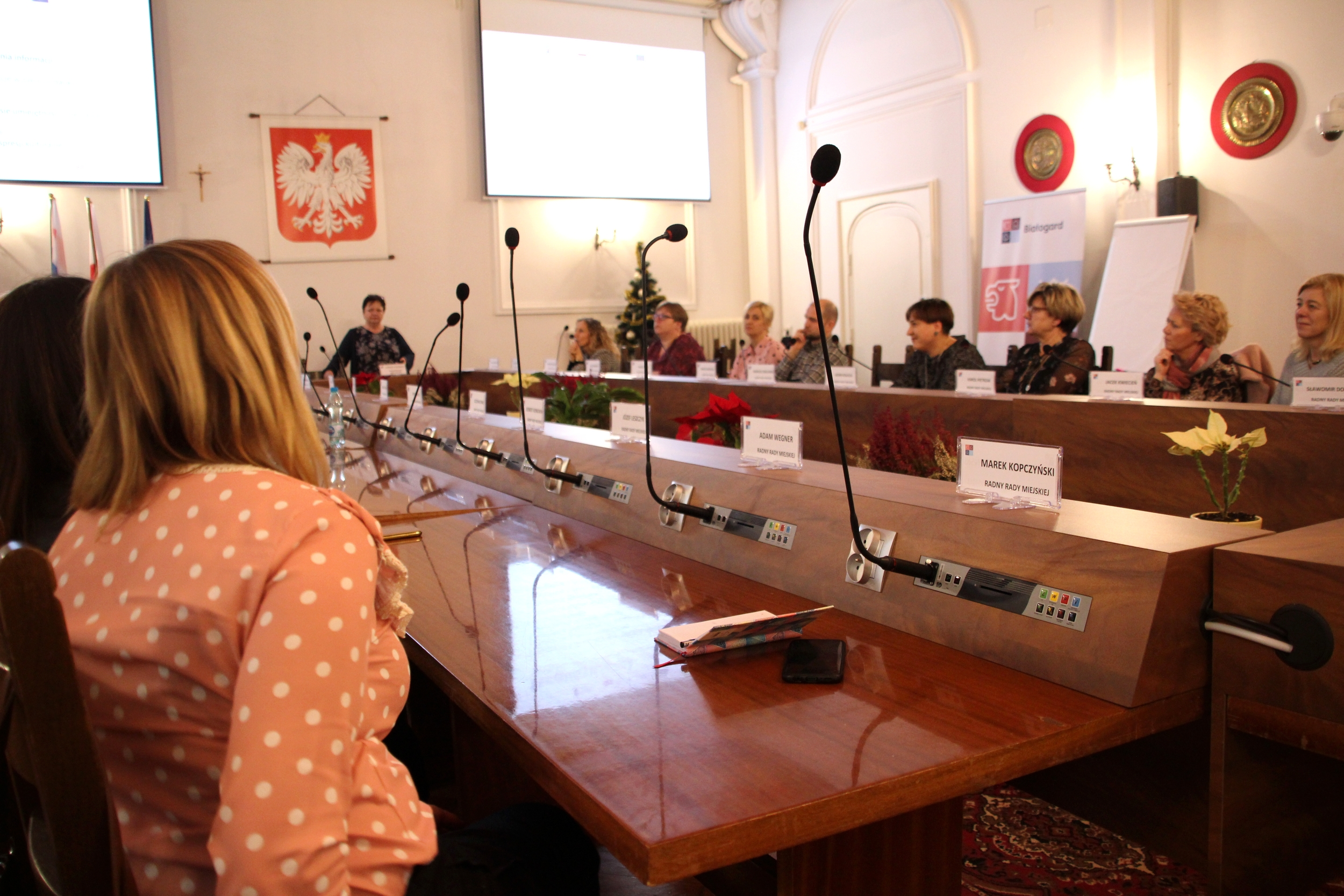 Oświatowa debata, Miasto Białogard