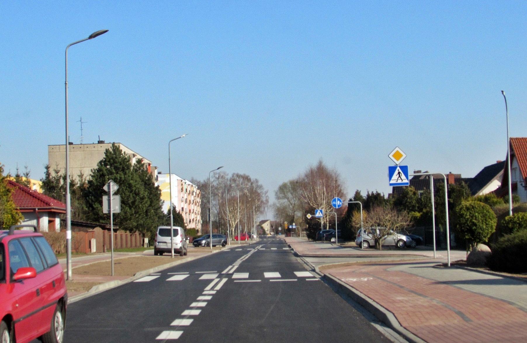Ulica Bolesława Śmiałego przebudowana!, Miasto Białogard