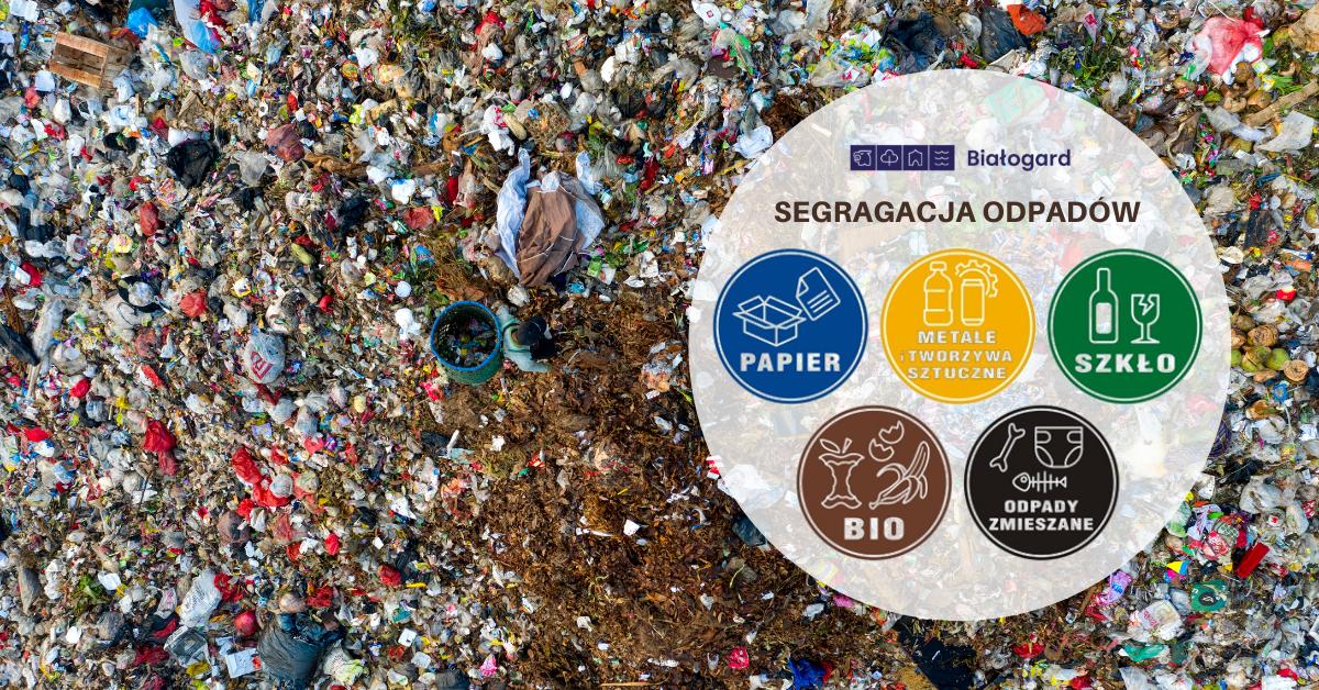 Segregacja odpadów, Miasto Białogard