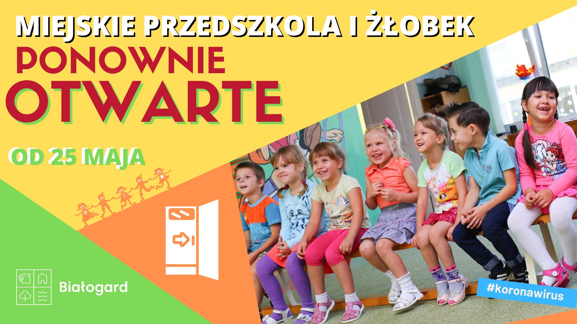 PRZEDSZKOLA I ŻŁOBEK OTWARTE!, Miasto Białogard