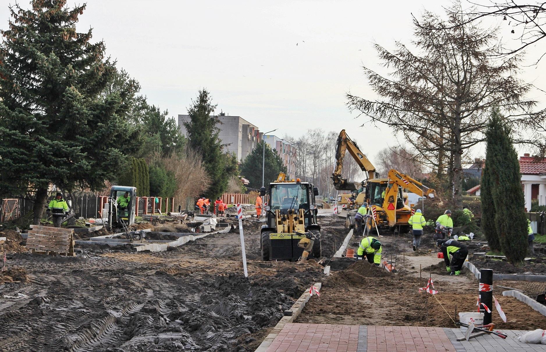 Przebudowa ulicy Bolesłwa Śmiałego