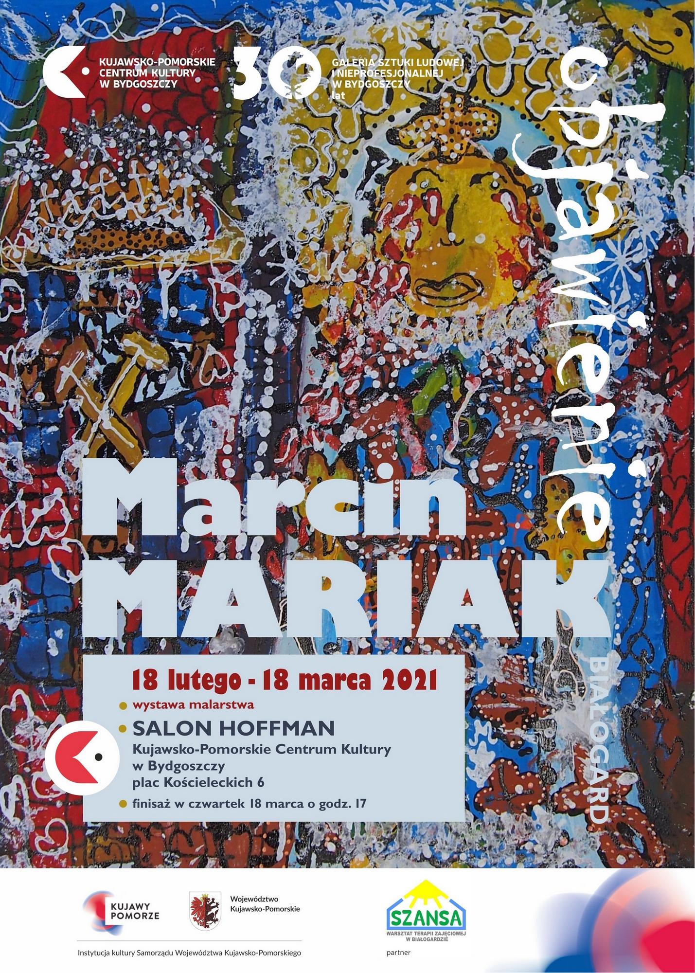 plakat Marcin Mariak B2